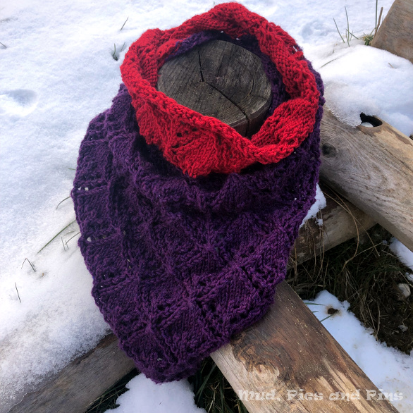 Knitted neck scarf | Mud, Pies and Pins