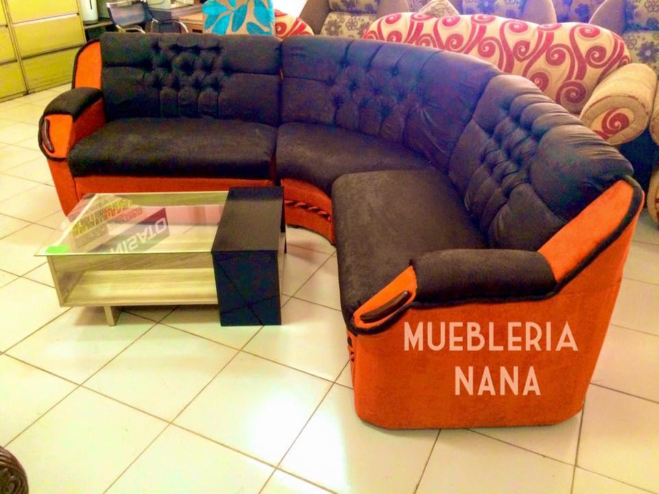 Sofa Curvo - Muebleria Nana