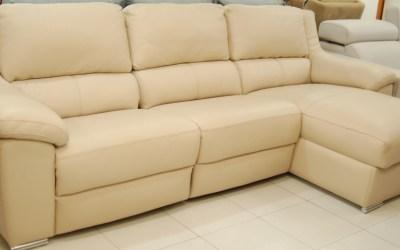 Sofa relax Dario piel natural espesorada