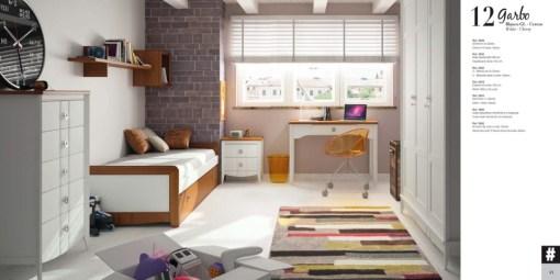Dormitorio Juvenil conjunto Galerias