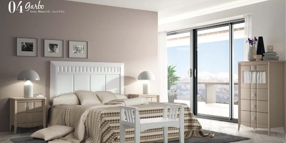 Dormitorio Modelo Garbo Romantic