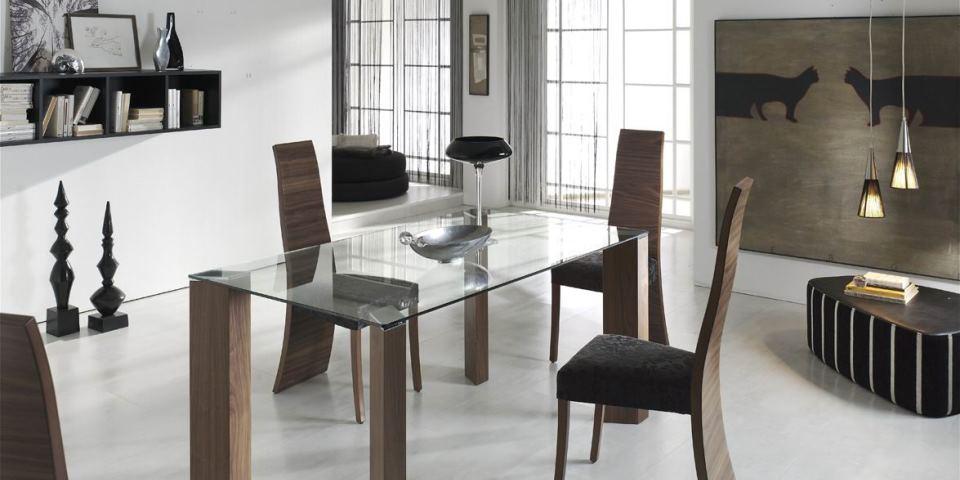 Mesa double y sillas