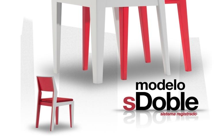 Silla Due modelo S doble