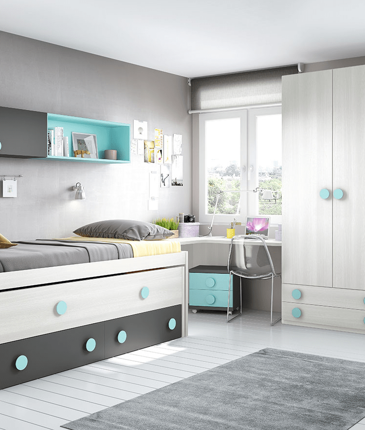 dormitorio LOOOP Grey