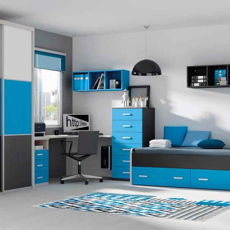 dormitorio juvenil Piixel #003