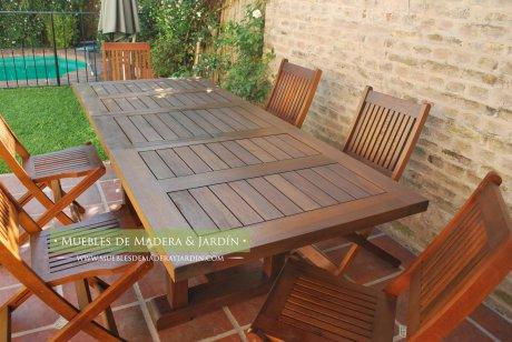 mesa para patios