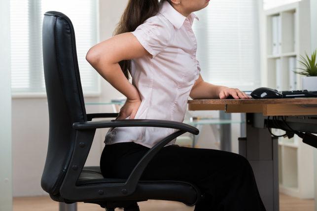 Sillas de oficina: seis consejos para no sufrir dolores de espalda