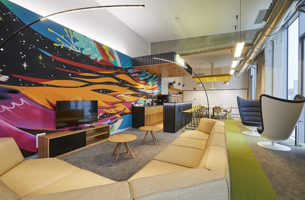 Así son las oficinas diseñadas para potenciar el talento