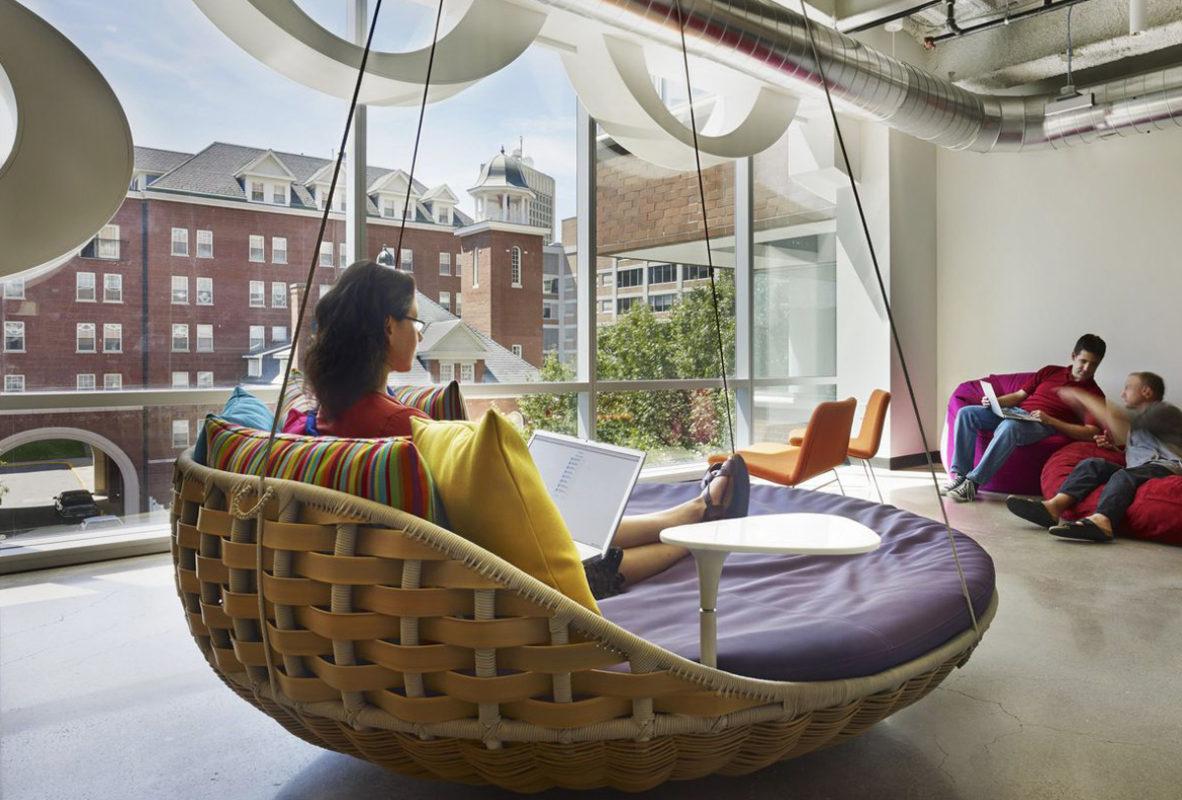 El secreto para tener empleados saludables y felices en las oficinas