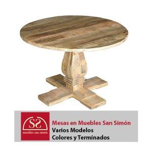 Mesas Redondas en Muebles San Simón