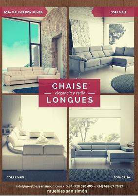 Catálogos de Chaise Longues