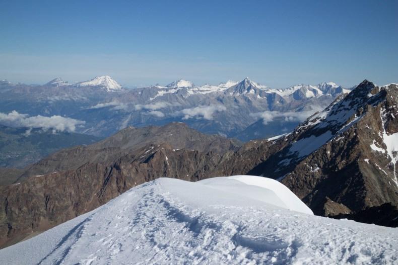 Mountaineering, Wallis, Weissmies