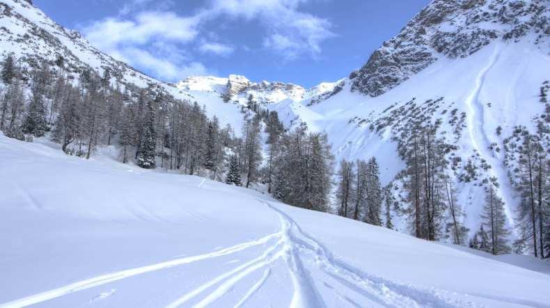 Arosa, Graubünden, Skitour, Switzerland