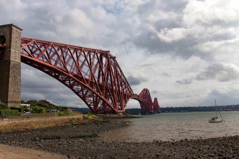 Forth Road Bridge, Scotland, UK