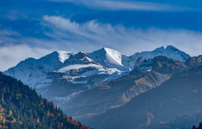 Berner Oberland, Kiental, Schweiz, Wandern