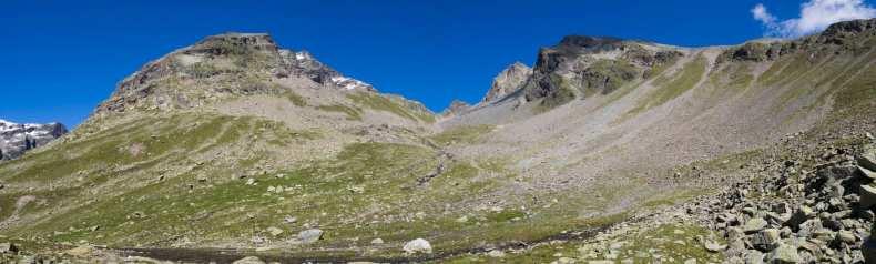 Graubünden, Hochtour, Piz Fliana, Schweiz