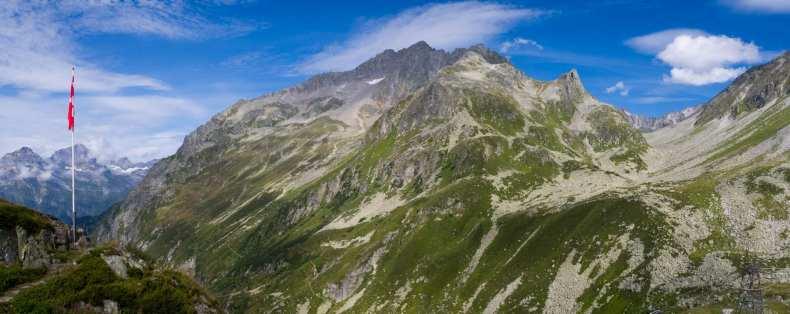 Hochtour, Piz Giuv, Schweiz, Uri
