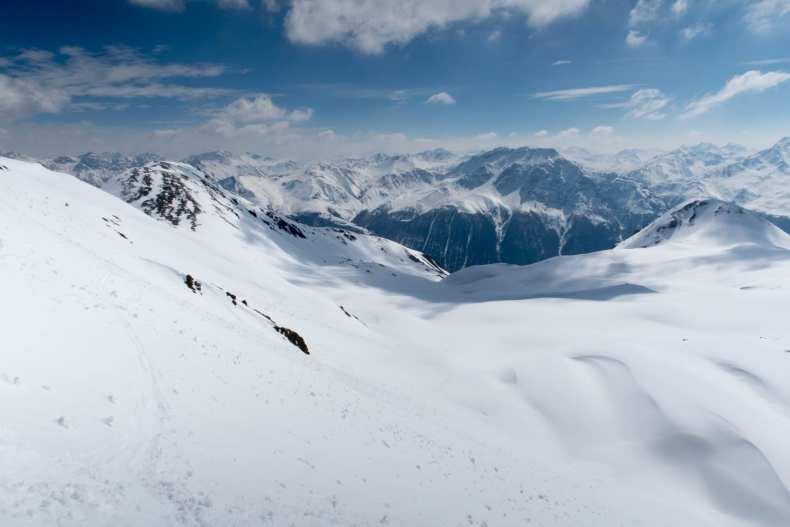 Graubünden, Keschhütte, Piz Porchabella, Schweiz, Skitour, ZSS