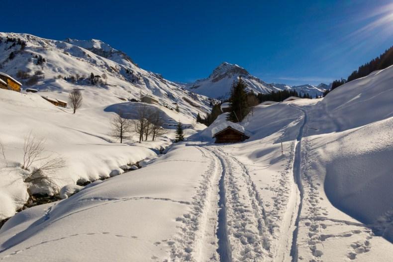 Graubünden, Schweiz, Skitour, St. Antönien, ZSS