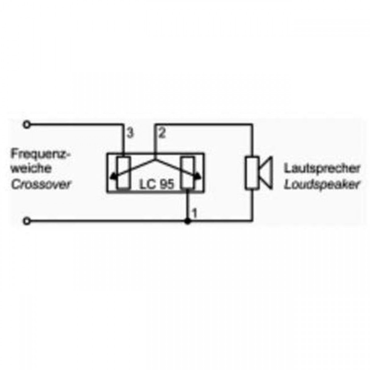 Lautsprecher Symbol Schaltplan