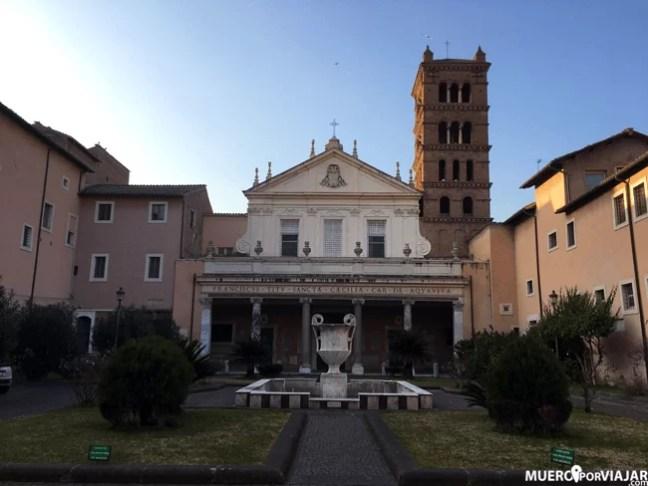 La Chiesa di Santa Cecília in Trastevere