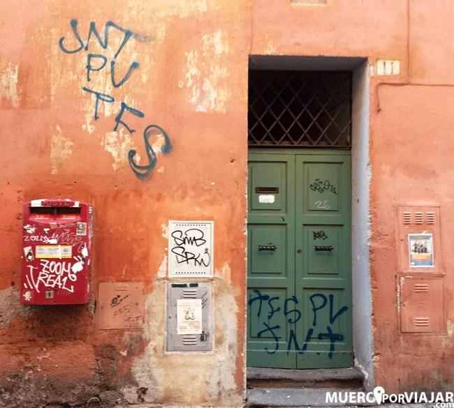La zona de Trastevere es la más bohémia de Roma