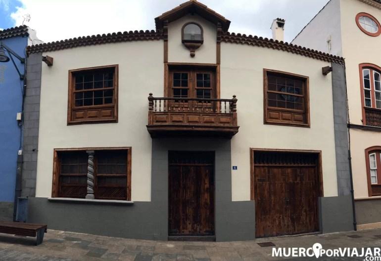 Las bonitas calles de La Laguna en Tenerife Norte