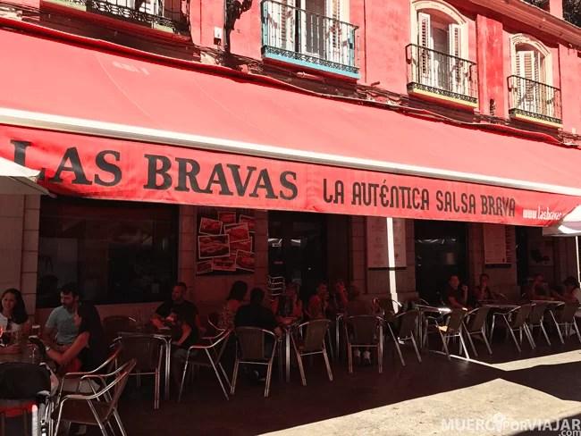 El famosos bar Las Bravas, un descubrimiento genial!