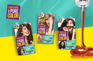 muestras gratis para el cabello. Coloración