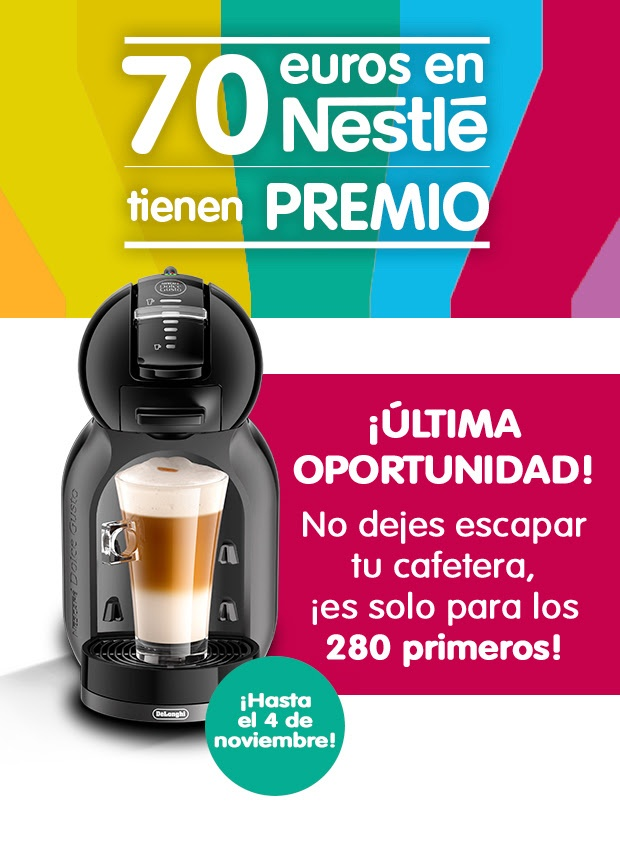 Regalo directo cafetera Dolce Gusto