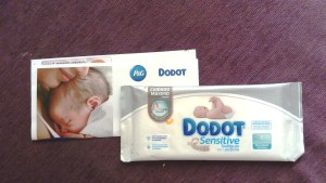 Dodot muestras gratis toallitas