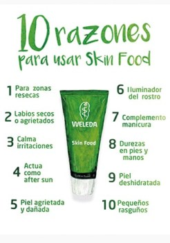 muestras gratis crema Skin Food