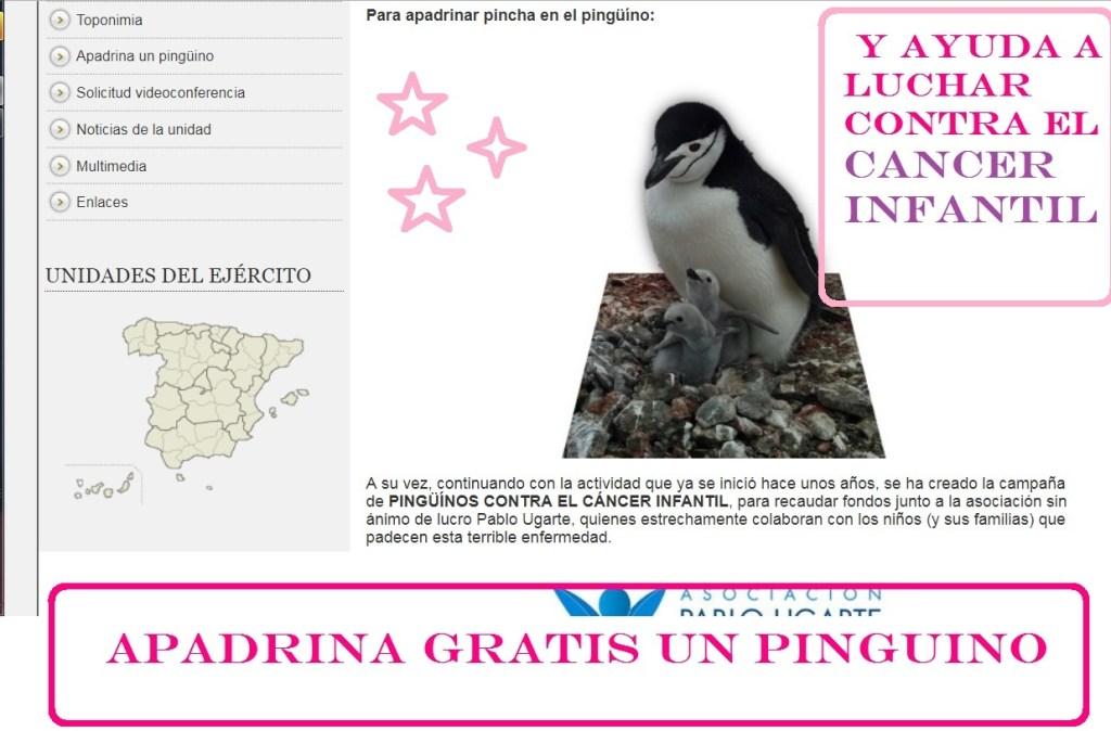 apadrina un pingüino gratis