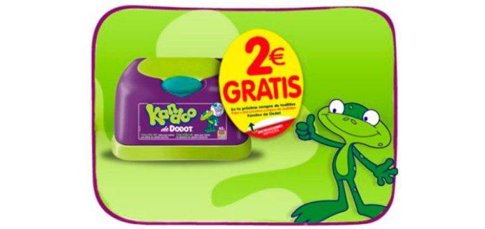 2 euros descuento kandoo de dodot