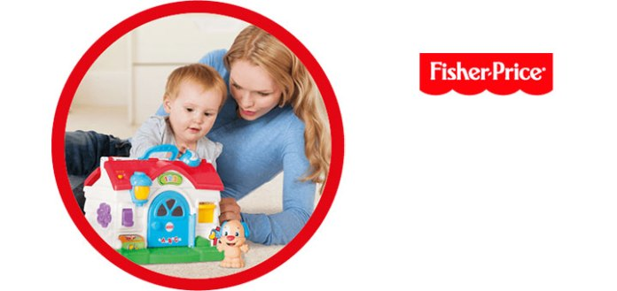 gana 10 juguetes de Fisher Price