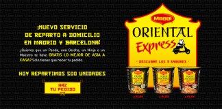 muestras gratis de pasta oriental express
