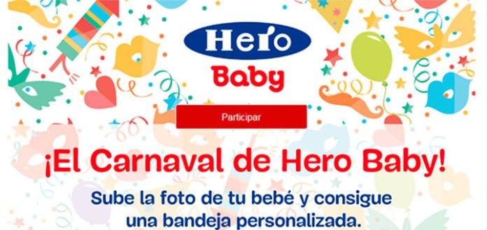 Consigue una bandeja personalizada con Hero Baby