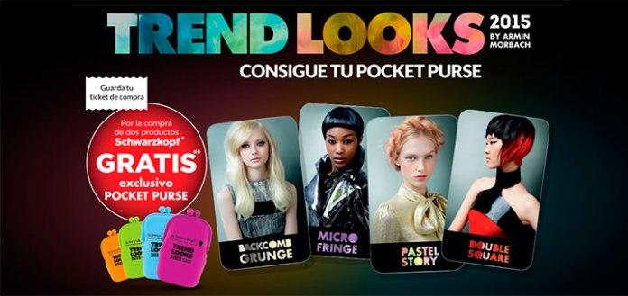 Consigue un pocket purse con Schwarzkopf
