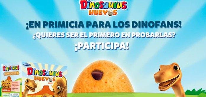 Prueba las nuevas galletas Dinosaurus Huevos