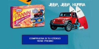 Consigue un Jeep Wrangler con Panini