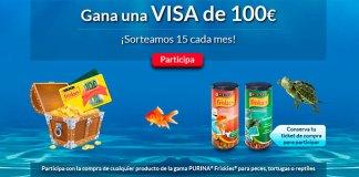 Friskies sortea VISAS de 100 euros