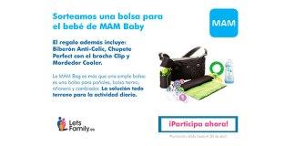 Lets Family sortea una bolsa de MAM Baby