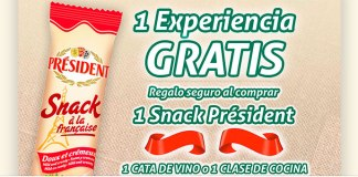 Président regala experiencias gratis