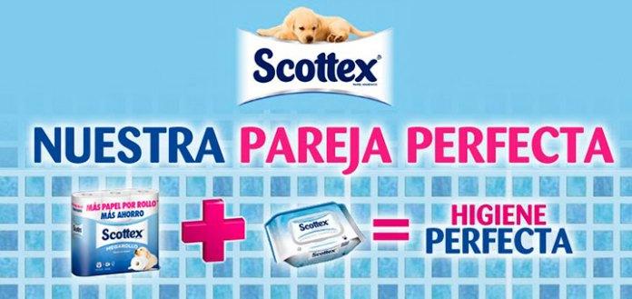Scottex regala lotes de productos