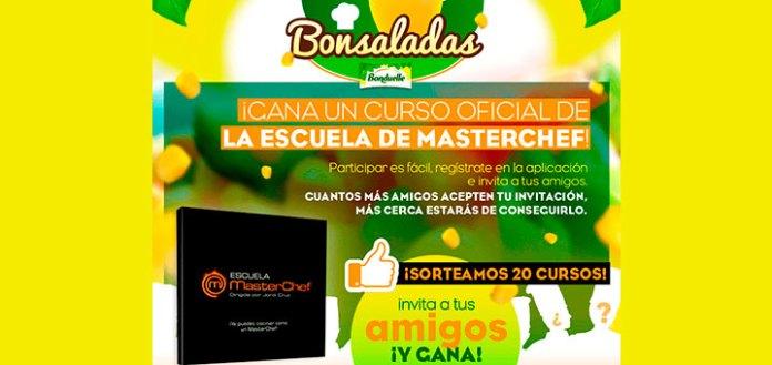 Bonduelle sortea 20 cursos de la escuela Masterchef