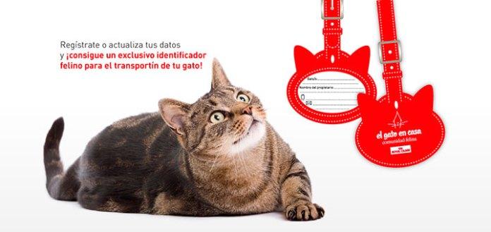 Consigue un identificador de transportín con Royal Canin