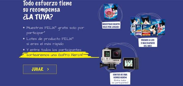 Consigue muestras gratis de productos Felix