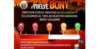Consigue un lote exclusivo de pastelitos Bony