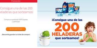 Wipp Express sortea 200 heladeras