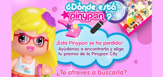 Consigue un premio de la Pinypon City